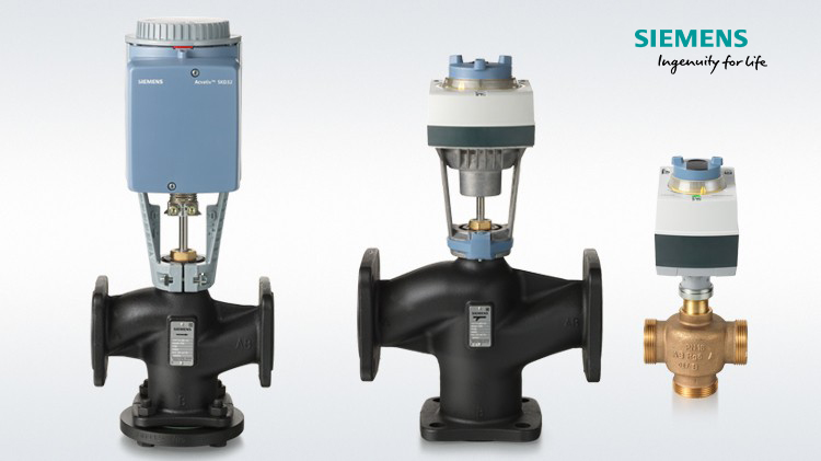 Siemens Globe Valves and Actuators