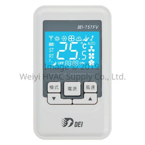 微型集網控制系統 DEI-757FV 副控面板