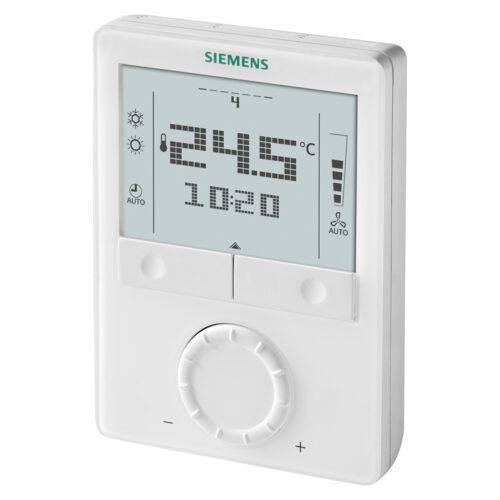 西門子 LCD顯示 室內溫控 Siemens Wall-mounted room thermostats with LCD RDG100