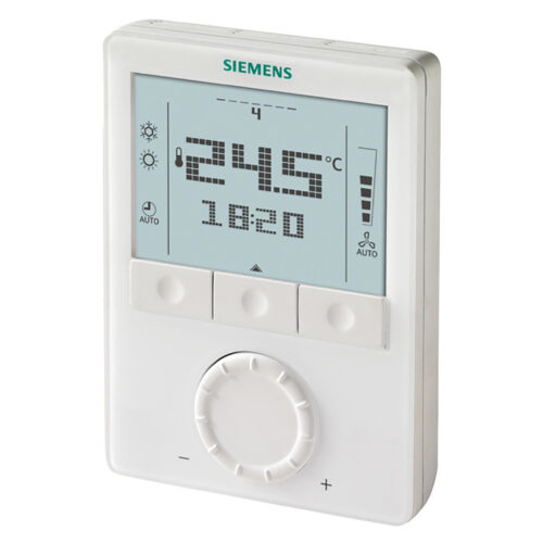 西門子 LCD顯示 可定時室內溫控 Siemens Wall-mounted room thermostats with LCD RDG100T, RDG160T, RDG160TU