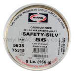 Harris Safety-Silv 56 High-silver Brazing Alloy 5635