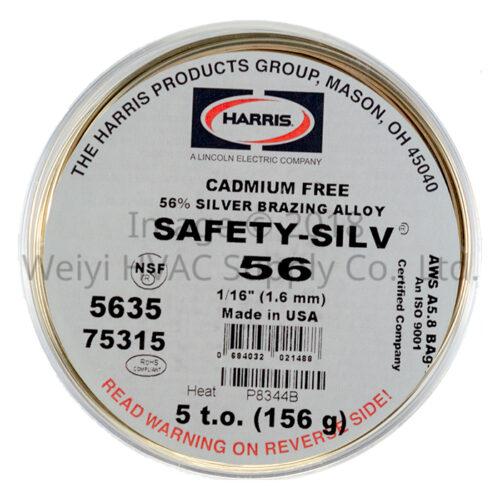Harris Safety-Silv 56 High-silver Brazing Alloy 5635