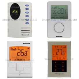 Honeywell小型送風機用一對一單機數位溫控比較表