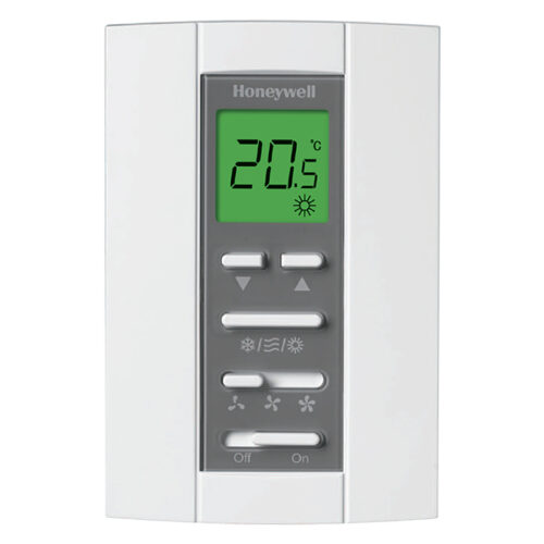 Honeywell T6812DP08 LCD Digital Fan-coil Thermostat
