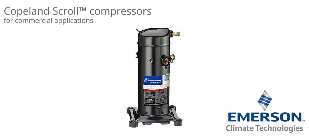Copeland 渦卷式壓縮機