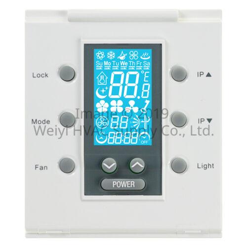 聯網型溫控系統 DEI-758LCN 主控面板