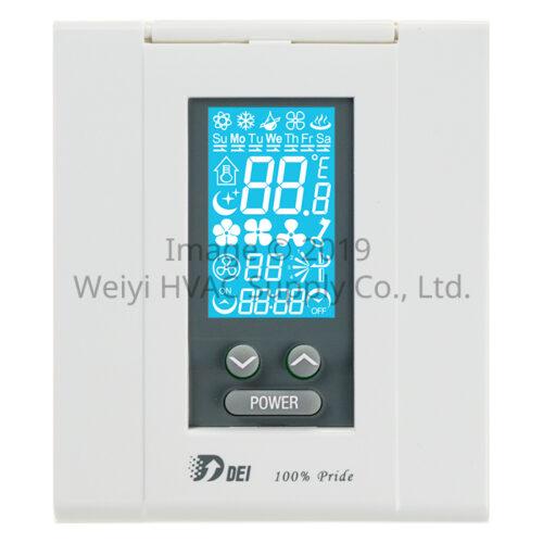 聯網型溫控系統 DEI-758SCN 主控面板
