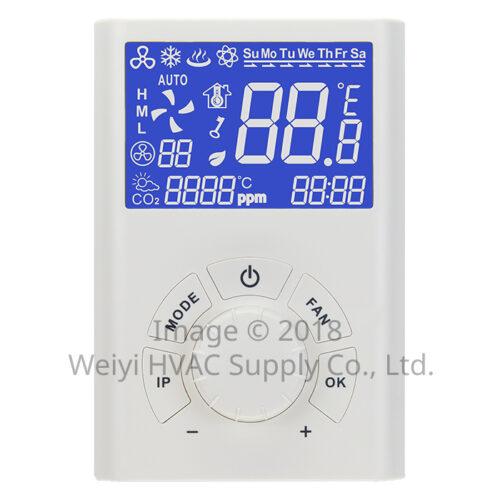 RTU101系列 小型送風機用 智慧連網型溫度控制器 RTU101-M 主控面板