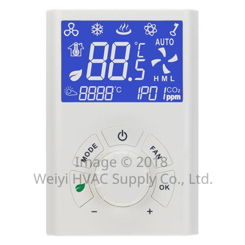 RTU101系列 小型送風機用 智慧連網型溫度控制器 RTU101-R 副控面板