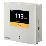 Siemens Fine dust sensor +display, 0-10V, Modbus 西門子 PM2.5 PM10 感測器 QSA2700D