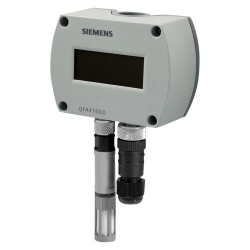 西門子 QFA41系列 溫濕度感測器 Siemens Symaro Room sensors for relative humidity and temperature with calibration certificates QFA4160D