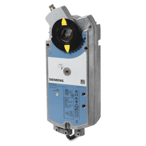 西門子 彈簧復歸風門驅動器 Siemens Rotary damper actuators with spring return GCA131.1E GCA161.1E GCA321.1E